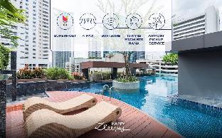 [スクンビット]アパートメント(40m2)| 1ベッドルーム/1バスルーム HappyZleepy S13 101 Nana&Asoke BTS / Resort pool