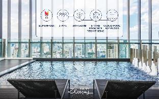 [スクンビット]アパートメント(40m2)| 1ベッドルーム/1バスルーム HappyZleepy S24 312/BTS Prompong/Cloud Pool/100mb
