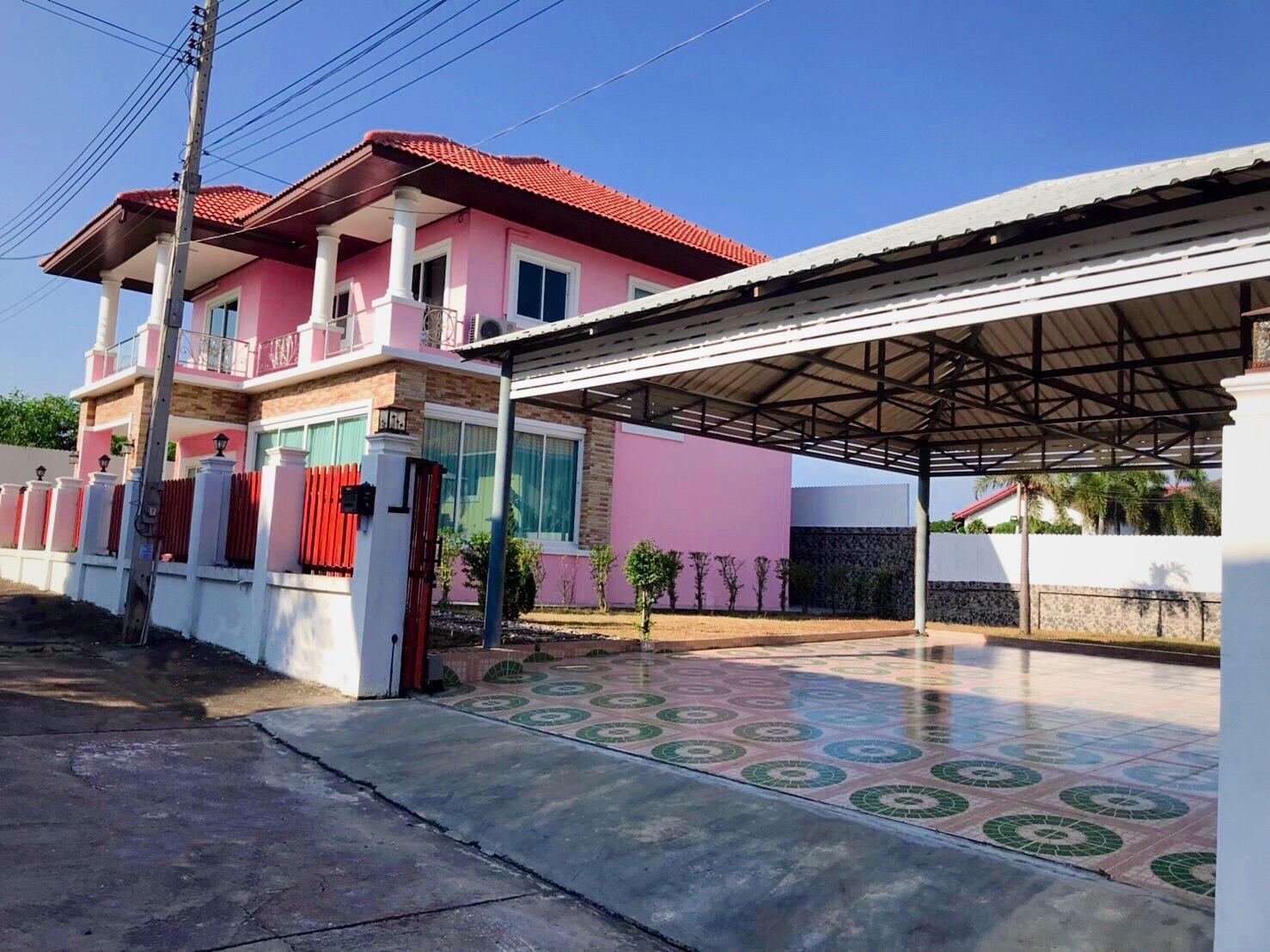 Pink Charm @ Pattaya บ้านเดี่ยว 3 ห้องนอน 3 ห้องน้ำส่วนตัว ขนาด 480 ตร.ม. – บางละมุง