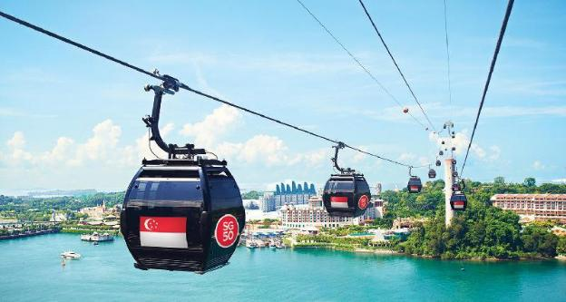 Singapore Cable Car - TICKETS ONLY
