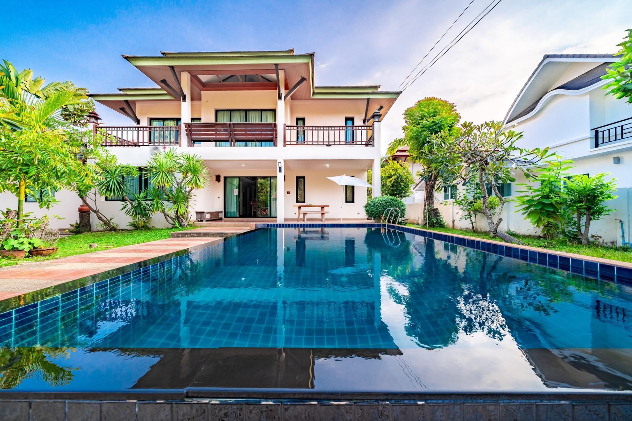 pattaya center luxury pool villa very beautiful วิลลา 5 ห้องนอน 5 ห้องน้ำส่วนตัว ขนาด 400 ตร.ม. – พัทยาเหนือ