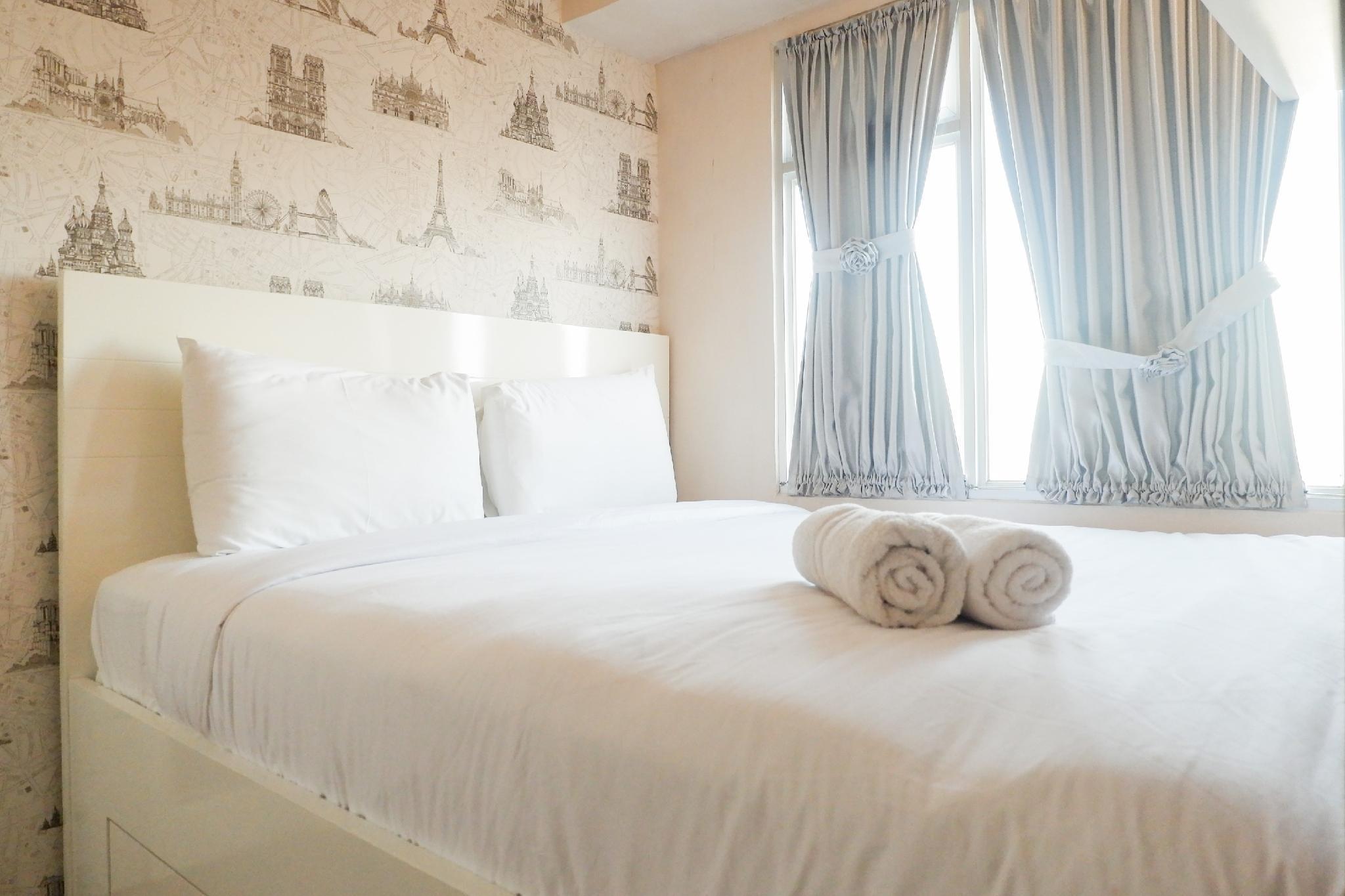 Quiet 2BR Apartment at Educity Pakuwon By Travelio
