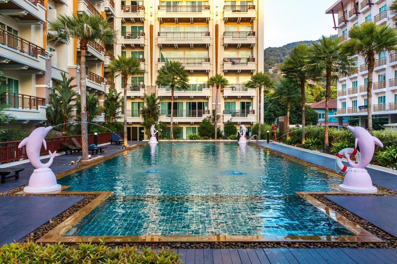 CENTRAL Patong apartment, 200 meters to Jungceylon อพาร์ตเมนต์ 1 ห้องนอน 1 ห้องน้ำส่วนตัว ขนาด 60 ตร.ม. – ป่าตอง