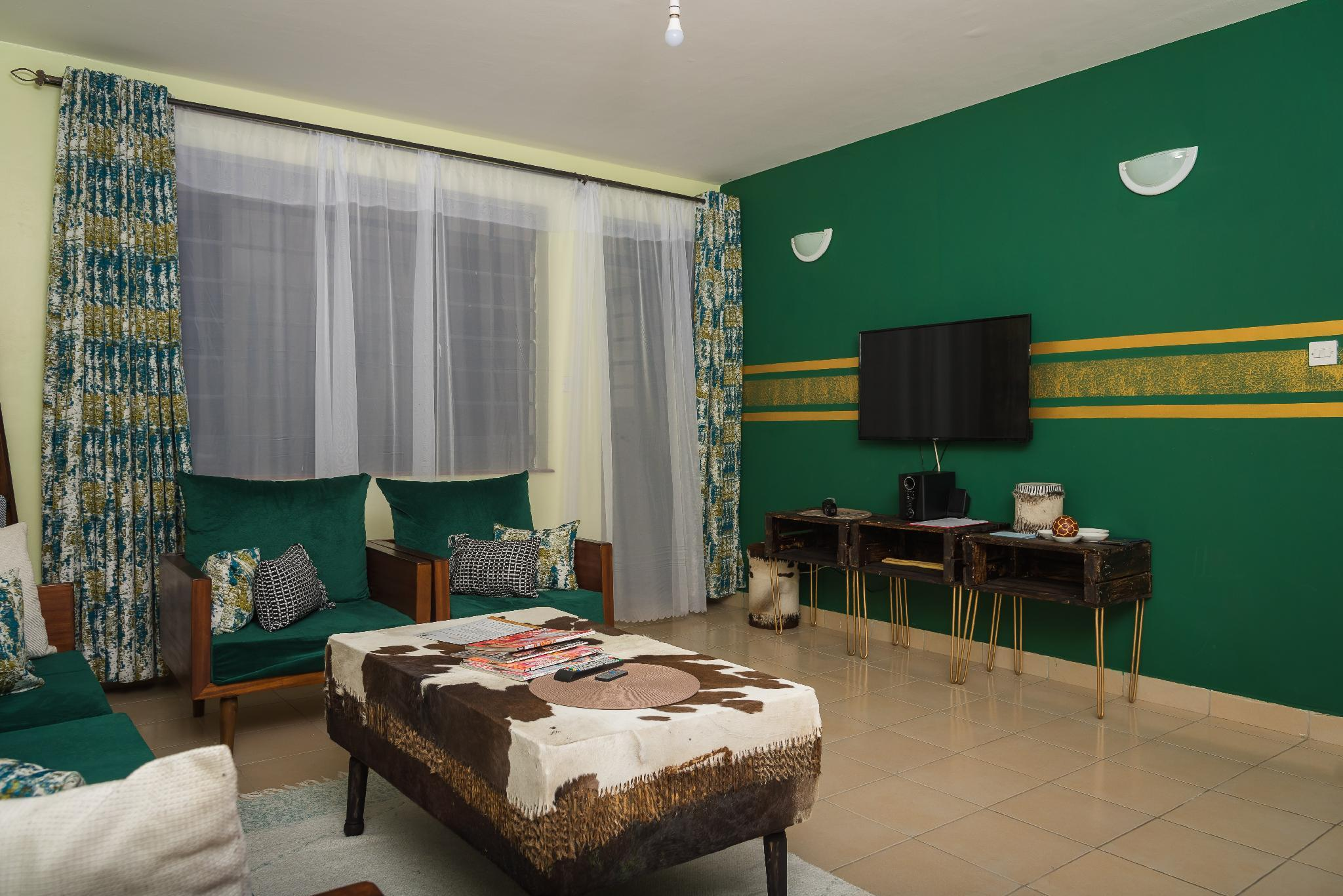 Sefu Furnished Apartment   Green And Gold