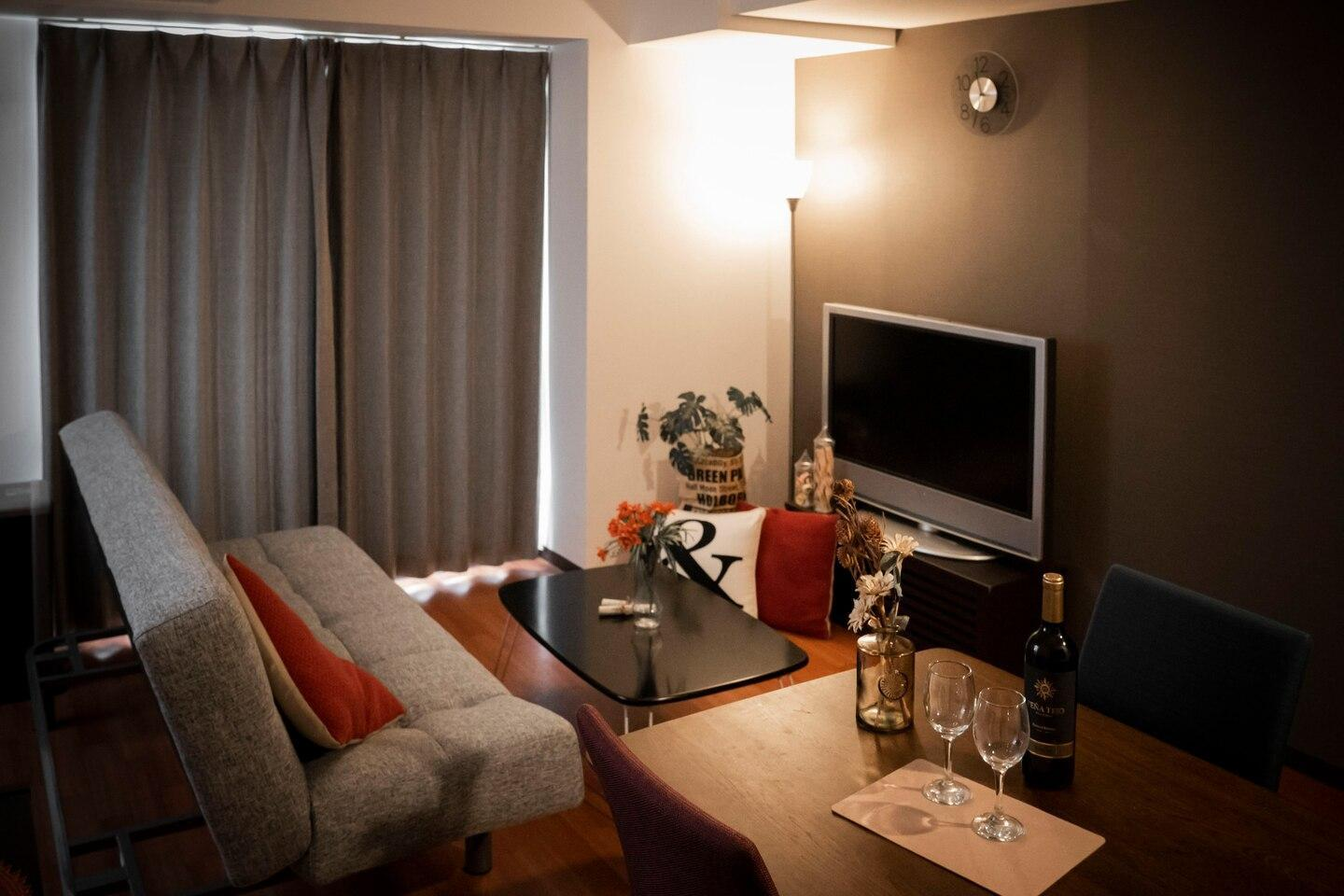 BH901  Discount  Well Decorated Apt In SAPPORO
