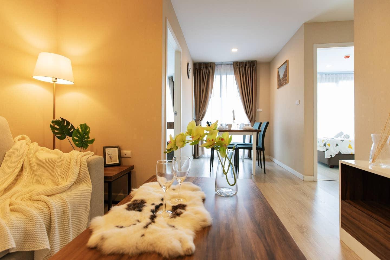 Sunset Rama exquisite large two bedroom bkb221 อพาร์ตเมนต์ 2 ห้องนอน 2 ห้องน้ำส่วนตัว ขนาด 60 ตร.ม. – สุขุมวิท