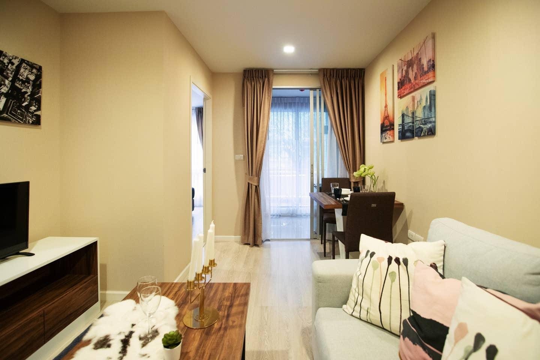 Double Apartment next to Bangkok University bkb133 อพาร์ตเมนต์ 1 ห้องนอน 1 ห้องน้ำส่วนตัว ขนาด 30 ตร.ม. – สุขุมวิท