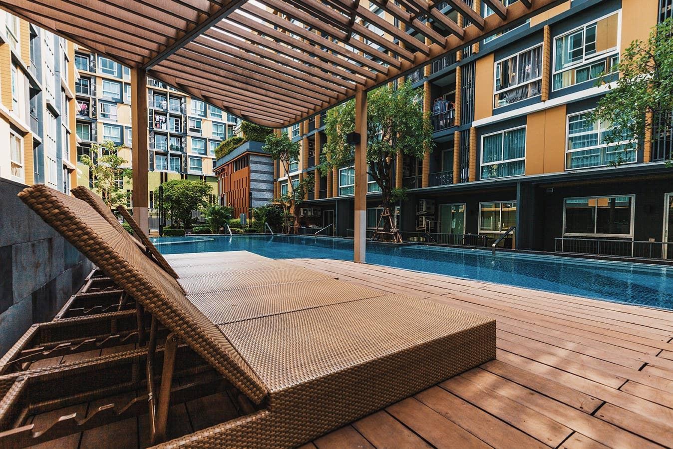 Modern style condo in Rama4 อพาร์ตเมนต์ 2 ห้องนอน 2 ห้องน้ำส่วนตัว ขนาด 60 ตร.ม. – สุขุมวิท