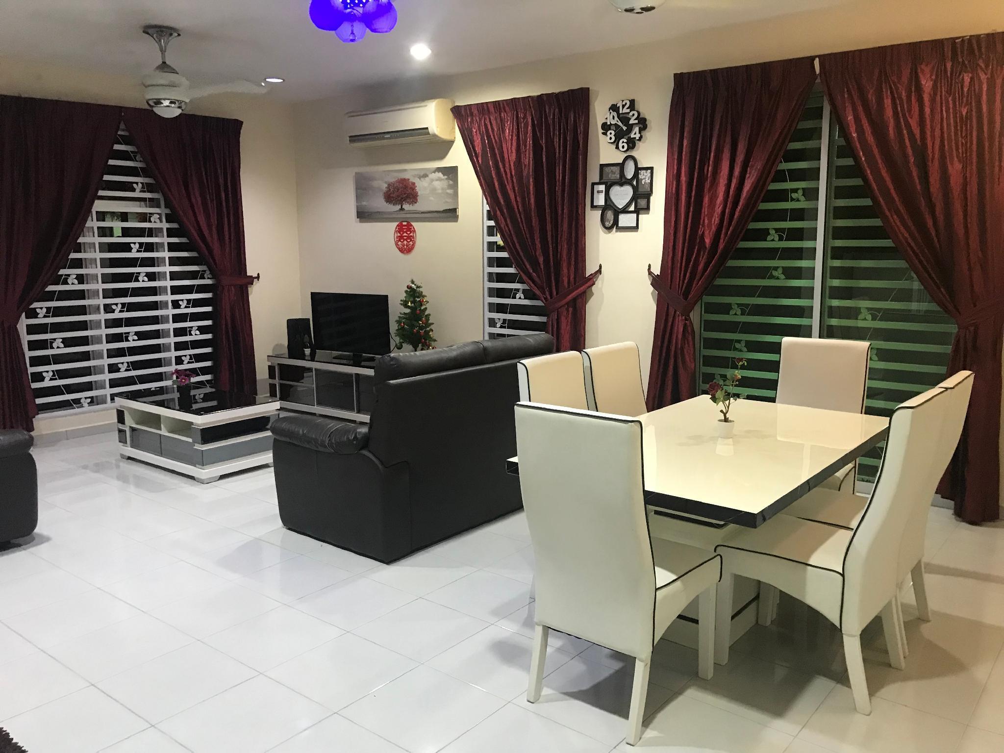 D Resort Homestay 16pax(BBQ, Gym, SWIM POOL, WiFi)