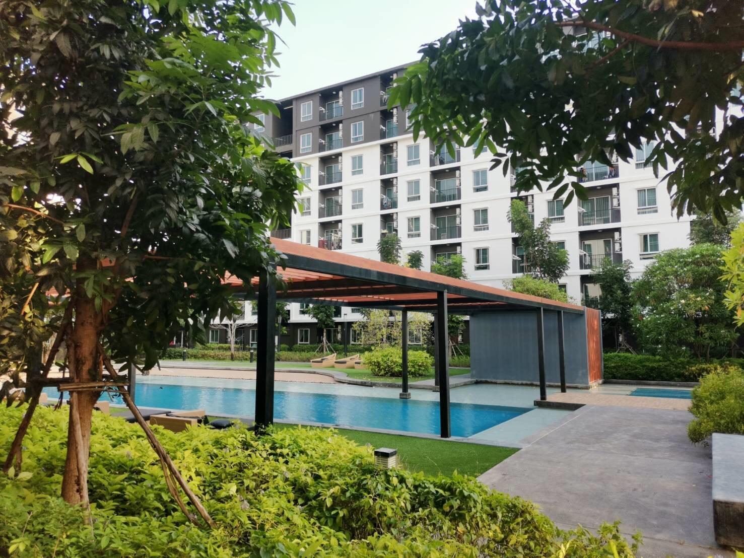 The parkland Rayong condo For that need privacy อพาร์ตเมนต์ 1 ห้องนอน 1 ห้องน้ำส่วนตัว ขนาด 30 ตร.ม. – ตัวเมืองระยอง