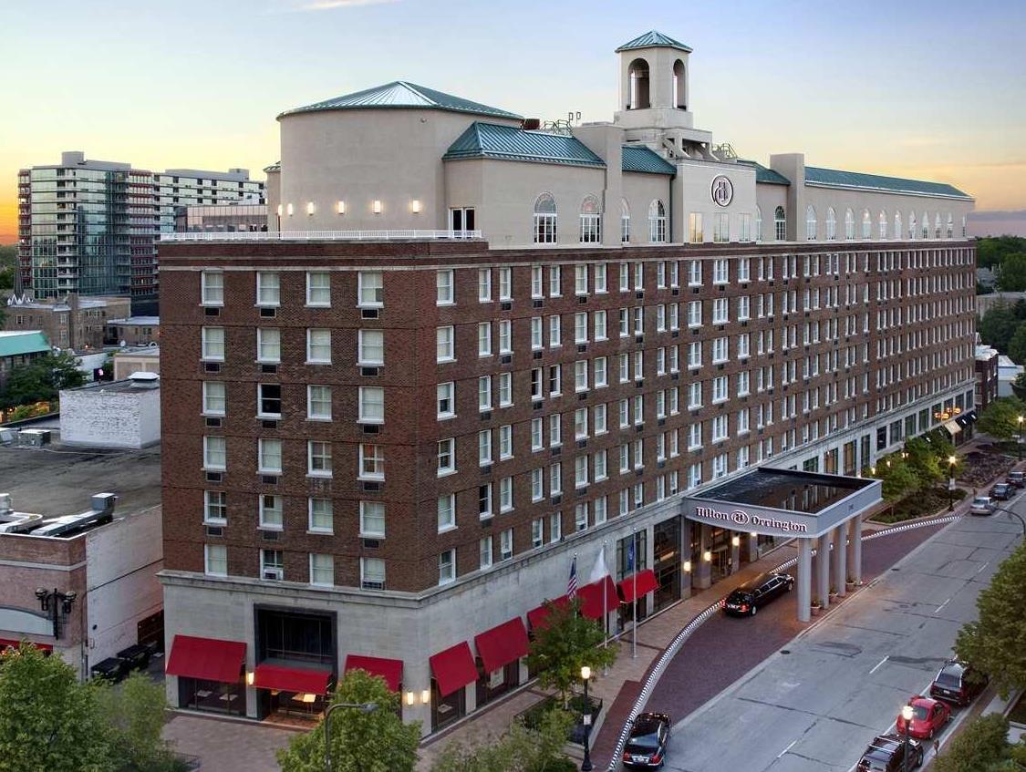 Hilton Orrington Evanston Hotel