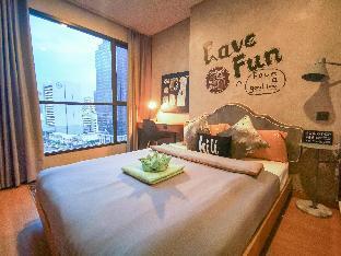 [スクンビット]アパートメント(30m2)| 1ベッドルーム/1バスルーム [hiii]Hyacinth|PoolRama9|MRT|Airport Link-BKK190