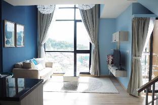[プーケットタウン]アパートメント(58m2)| 1ベッドルーム/2バスルーム Duplex room / Infinity roof top pool / Phuket Town