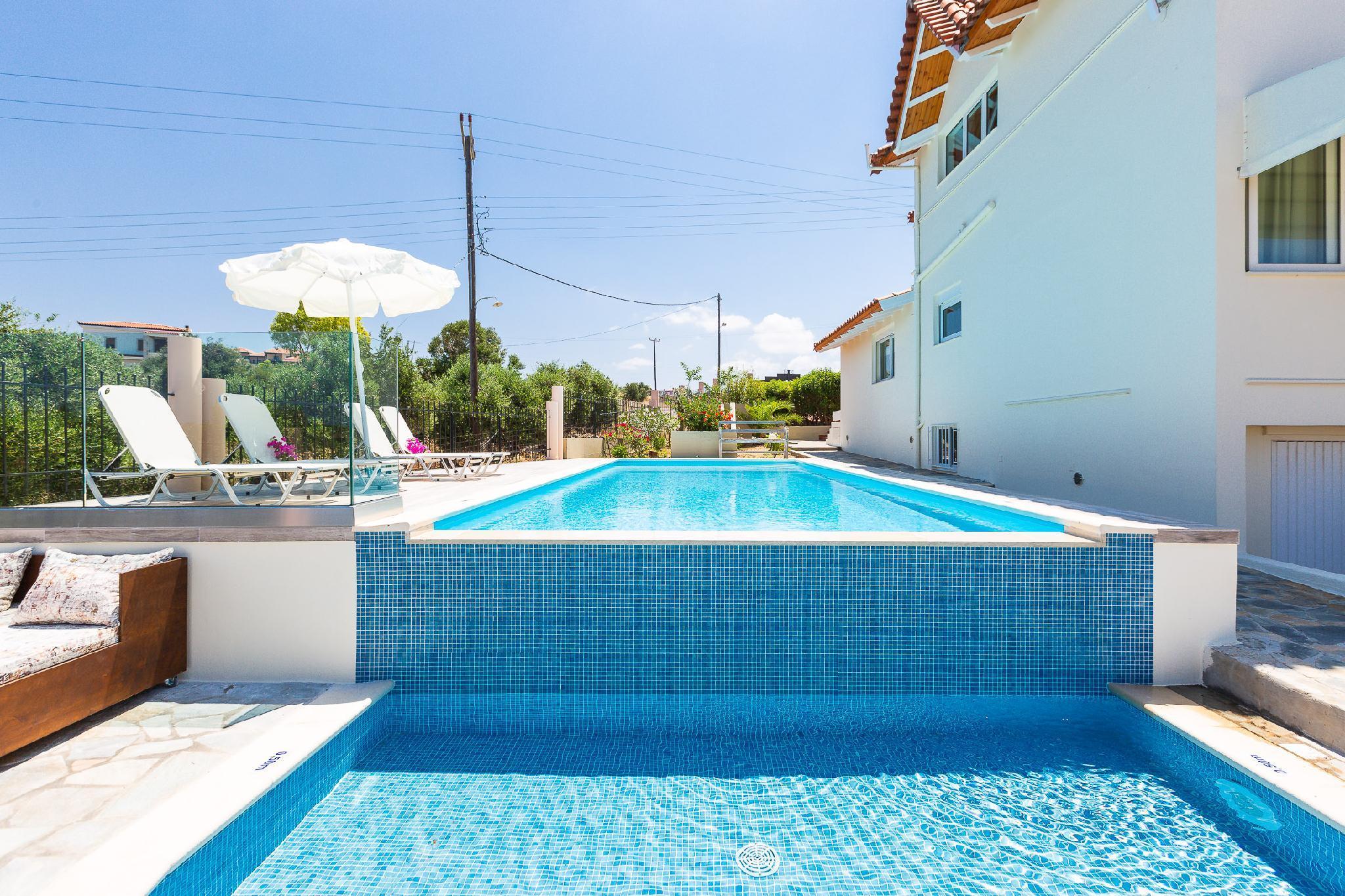Villa Elihrisos A 225sqm Villa Private Heated Pool