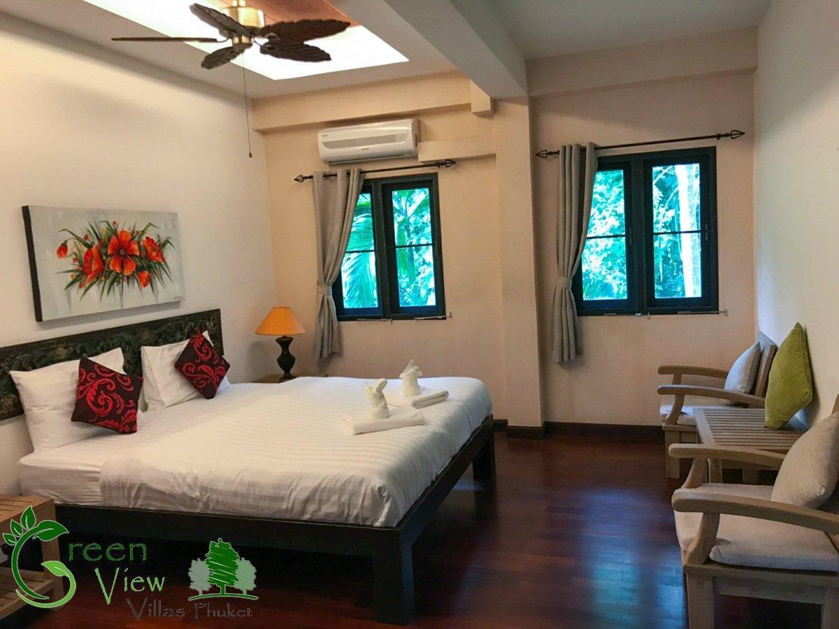 Green View 1 Villa Phuket วิลลา 7 ห้องนอน 7 ห้องน้ำส่วนตัว ขนาด 150 ตร.ม. – กะทู้