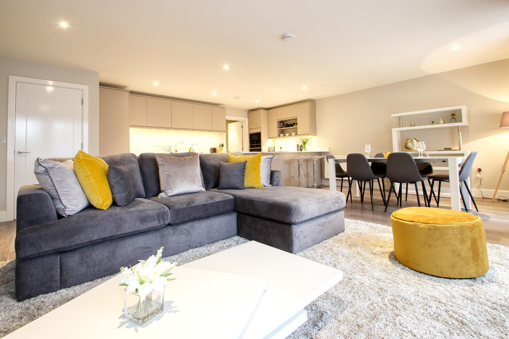 Righton Serviced Apartment In Summertown  oxcgph2