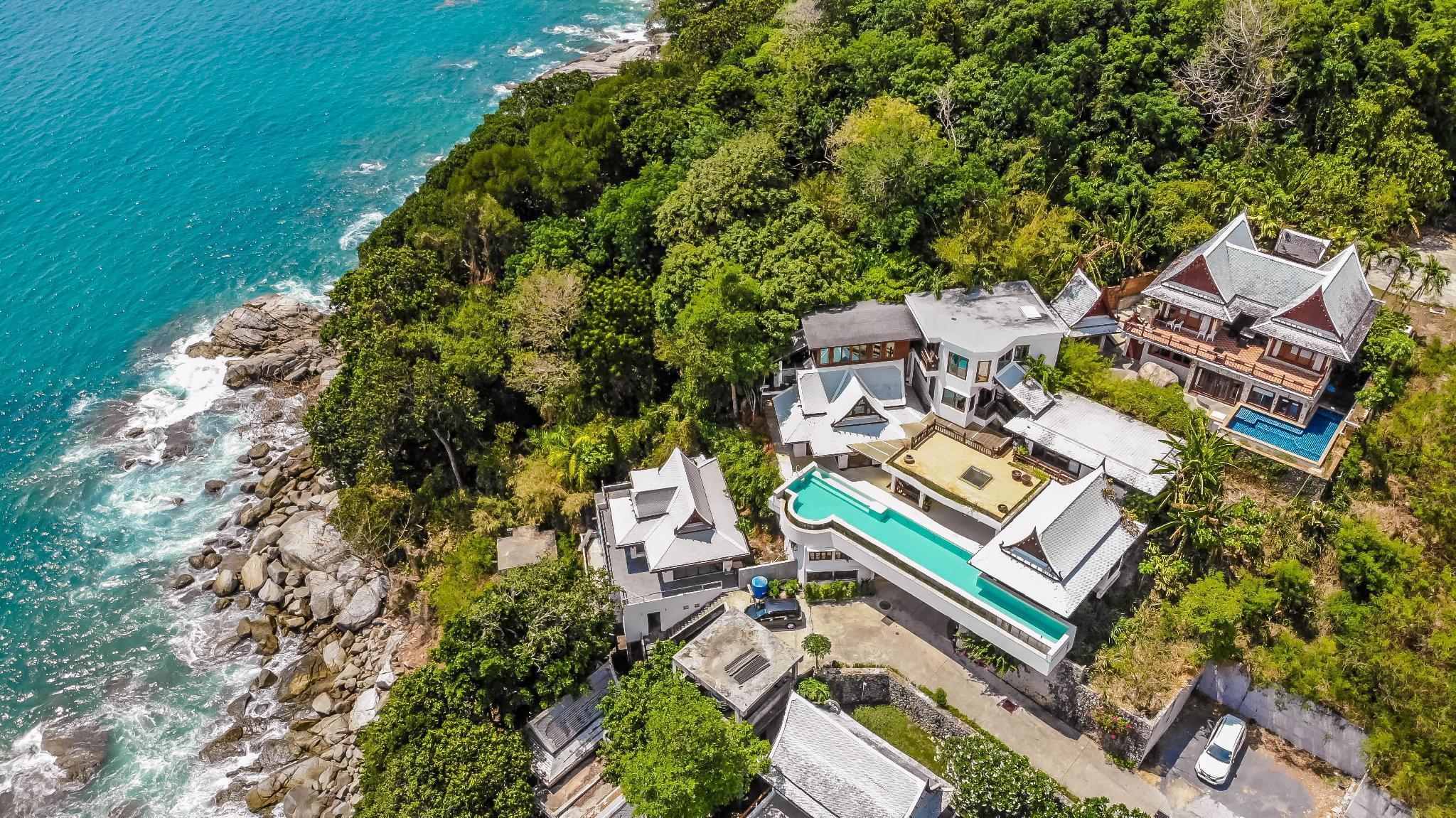 LUSTY Ocean View Villa in Kamala วิลลา 6 ห้องนอน 6 ห้องน้ำส่วนตัว ขนาด 350 ตร.ม. – สุรินทร์