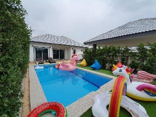 [チャアム]ヴィラ(86m2)| 4ベッドルーム/2バスルーム The twenty two pool villa Cha Am