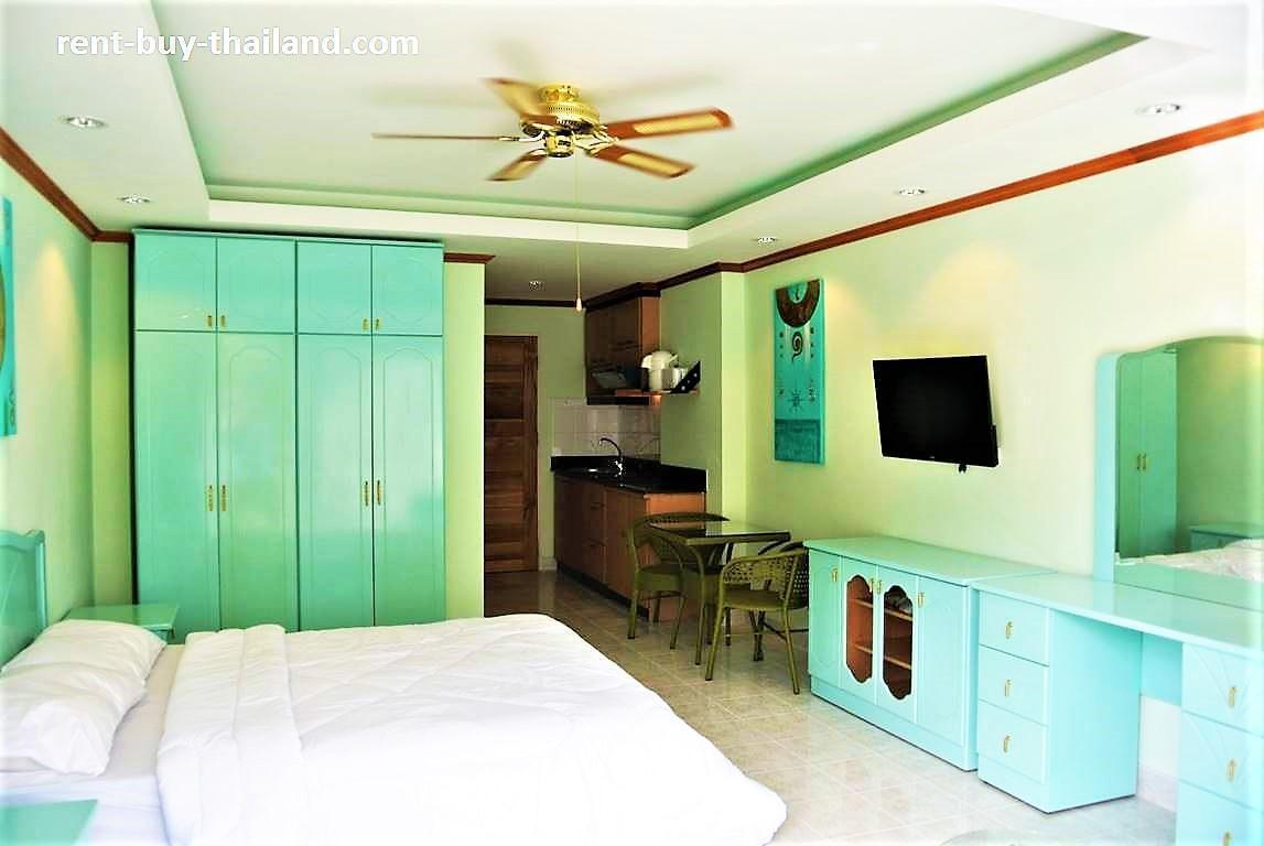 View Talay 1 b Pattaya popular complex large pool สตูดิโอ อพาร์ตเมนต์ 1 ห้องน้ำส่วนตัว ขนาด 32 ตร.ม. – หาดดงตาล