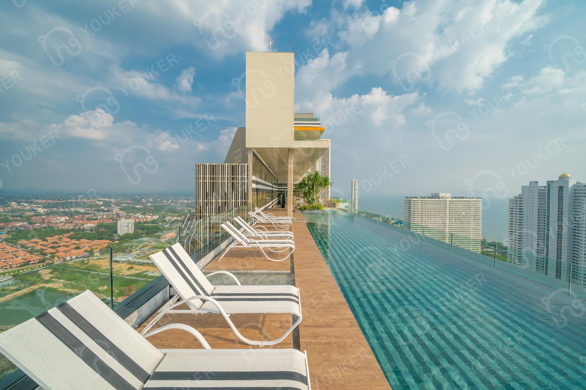 Pattaya The Riviera Jomtien Cityview 1 Suite Room
