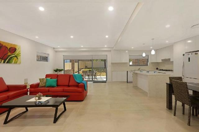 This photo about Greenacre Villa 41 - Sydney Modern 5 Bdrm house shared on HyHotel.com