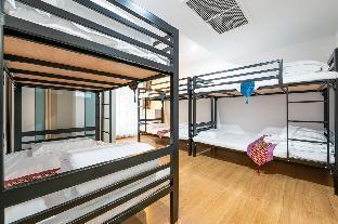[ラチャダーピセーク]アパートメント(140m2)| 1ベッドルーム/1バスルーム YULI Youth Hosted MaleOrFemale  dormitory 1 bed