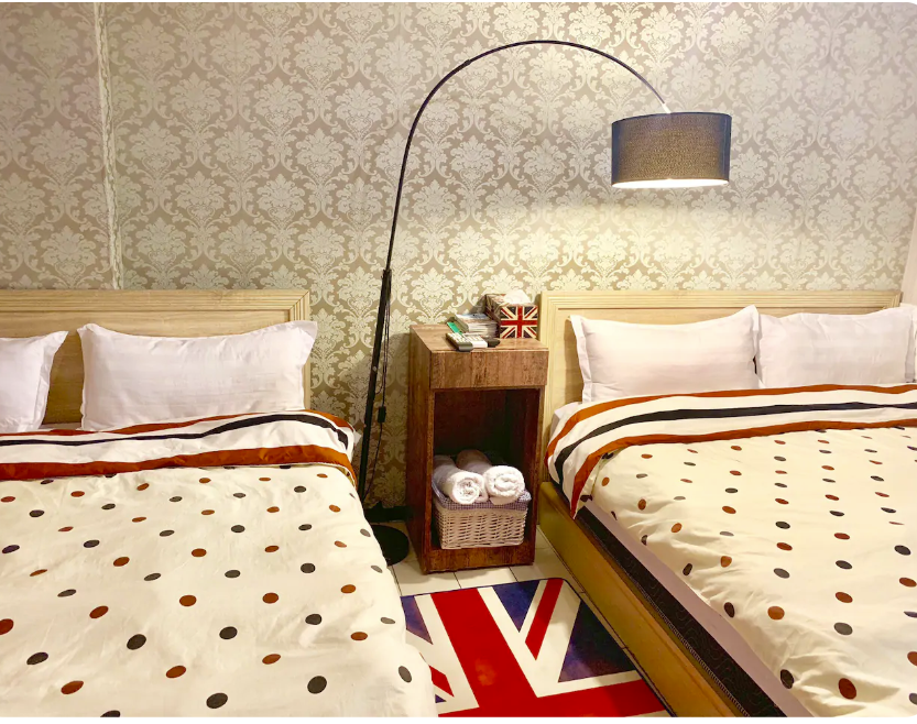 Studio Room For 4 At Ximending Shopping District