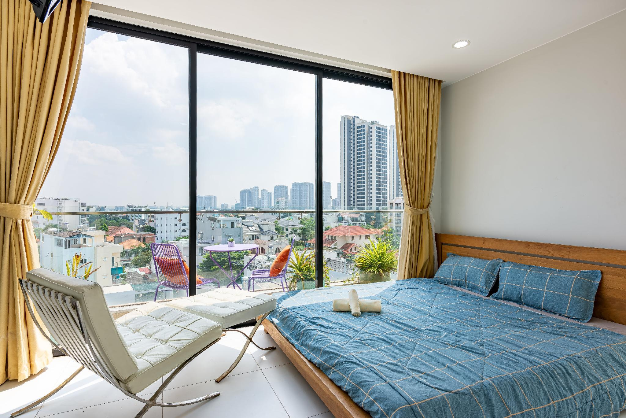 Penthouse   Panorama View In Center Of Thao Dien
