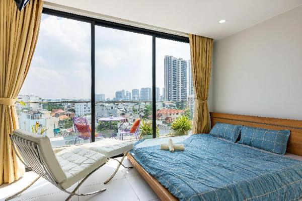 Penthouse - Panorama view in Center of Thao Dien Ho Chi Minh City