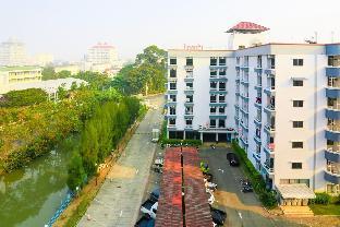 [市内中心部](30m2)| 1ベッドルーム/1バスルーム (A)Top Floor (7th) Wiangwalee Place near Beach