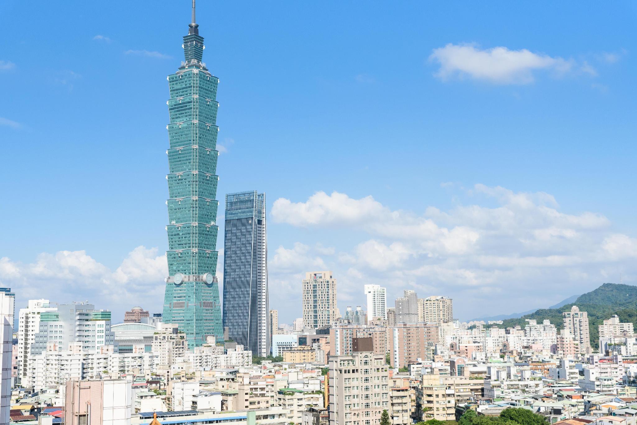 Lux Taipei101 Night Market MRT 2 4 P Kitchen Loft