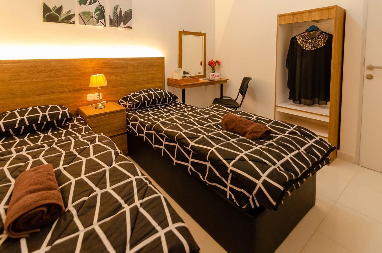 Apartemen Aeropolis Studio Twin Bed By Aparian