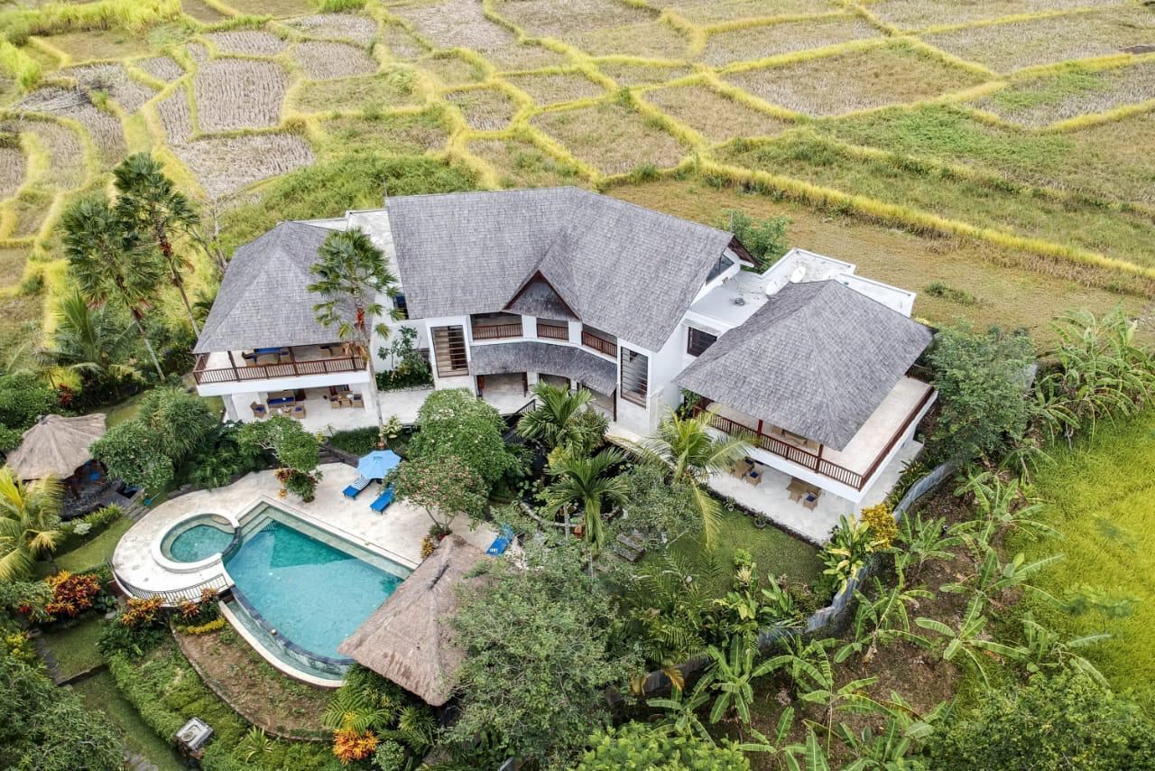 Luxury Private Villa With Nature View Ubud 4+2BR