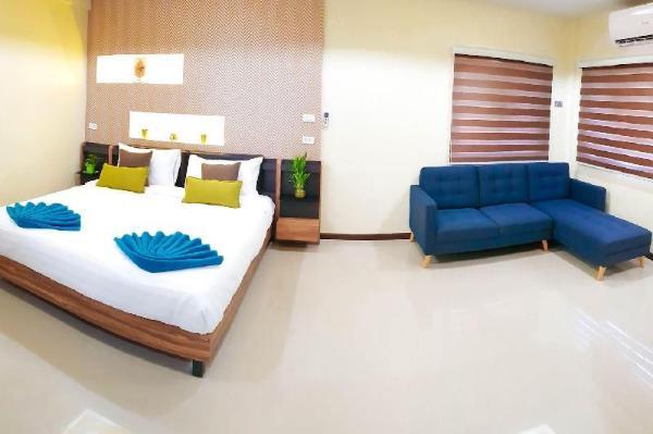 Sky Suite (2-bedroom family suite) - Walking Strt. Pattaya