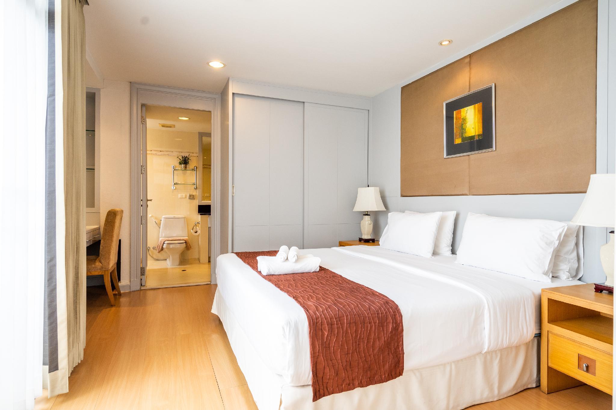 2BR Apartment near Samitivej Sukhumvit Hospital อพาร์ตเมนต์ 2 ห้องนอน 2 ห้องน้ำส่วนตัว ขนาด 85 ตร.ม. – สุขุมวิท