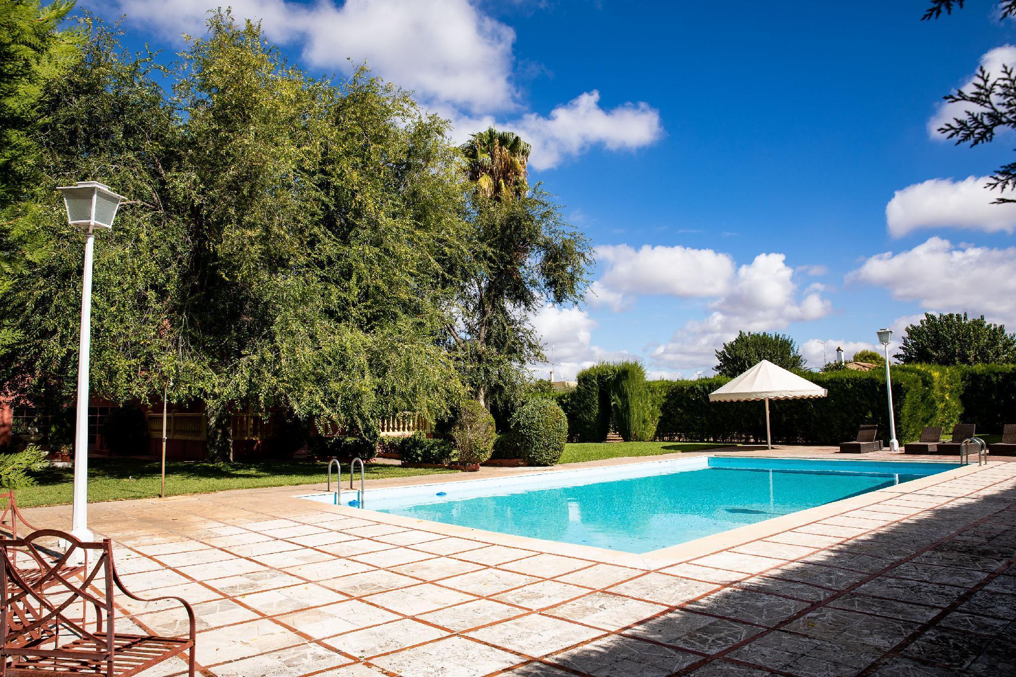 Villa Lucrecia. In The Countryside Near Seville.