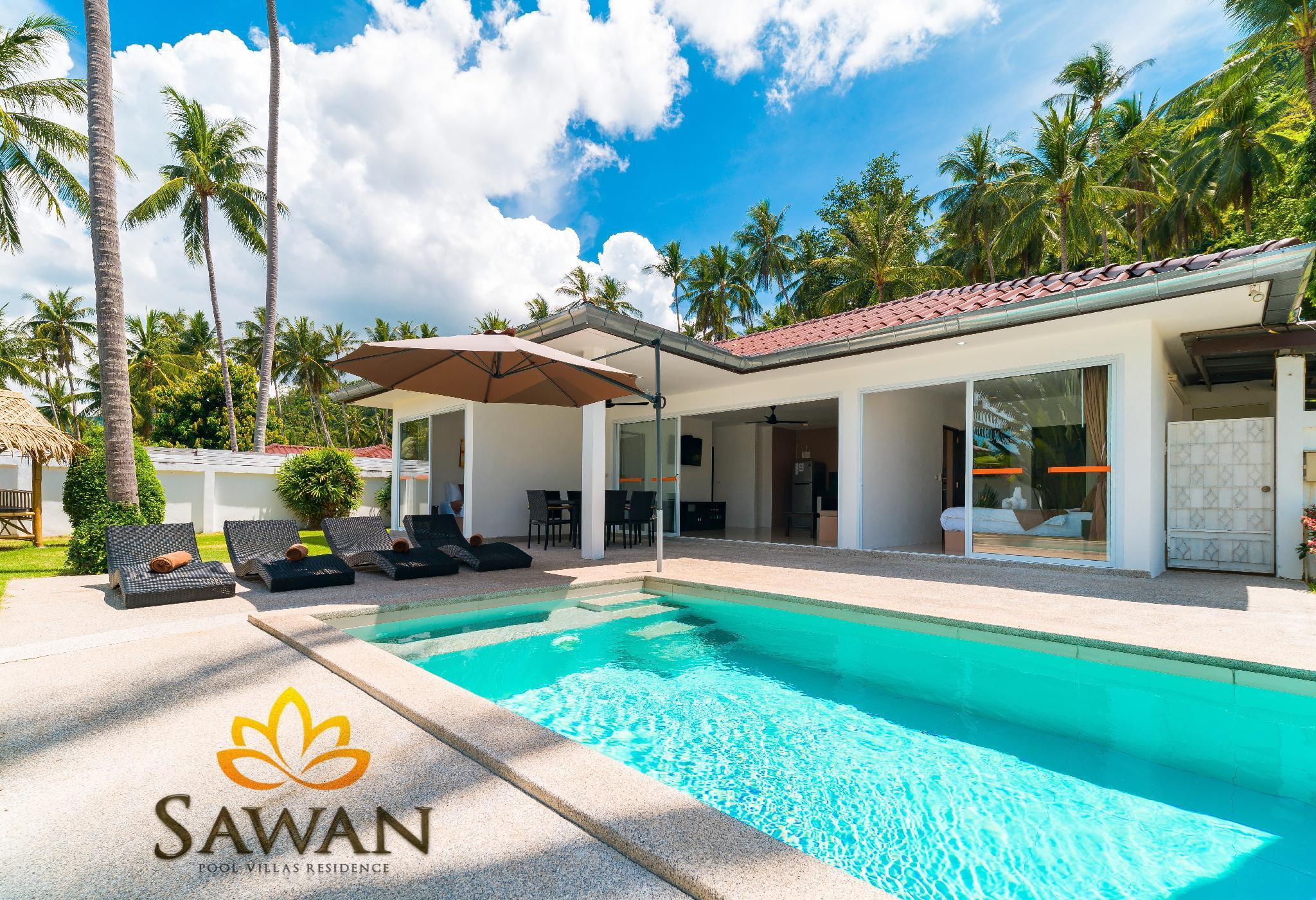 SAWAN Pool Villas residence - 2 beds Pool Villa วิลลา 2 ห้องนอน 3 ห้องน้ำส่วนตัว ขนาด 85 ตร.ม. – หาดละไม
