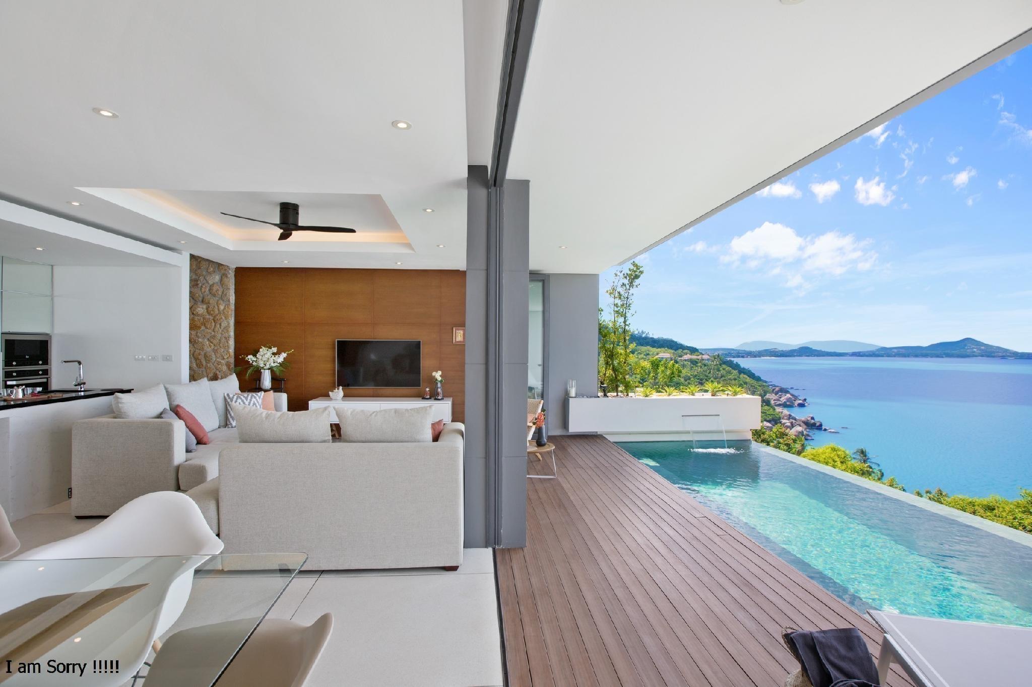 Villa Channary by Sukkho Samui Estates วิลลา 2 ห้องนอน 2 ห้องน้ำส่วนตัว ขนาด 155 ตร.ม. – หาดละไม