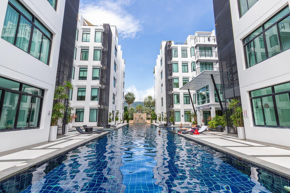 The Kamala Regent by Phuket Apartments อพาร์ตเมนต์ 3 ห้องนอน 2 ห้องน้ำส่วนตัว ขนาด 100 ตร.ม. – กมลา