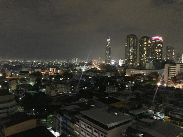 Bangrak Studio, River, BTS and Great view Bangkok