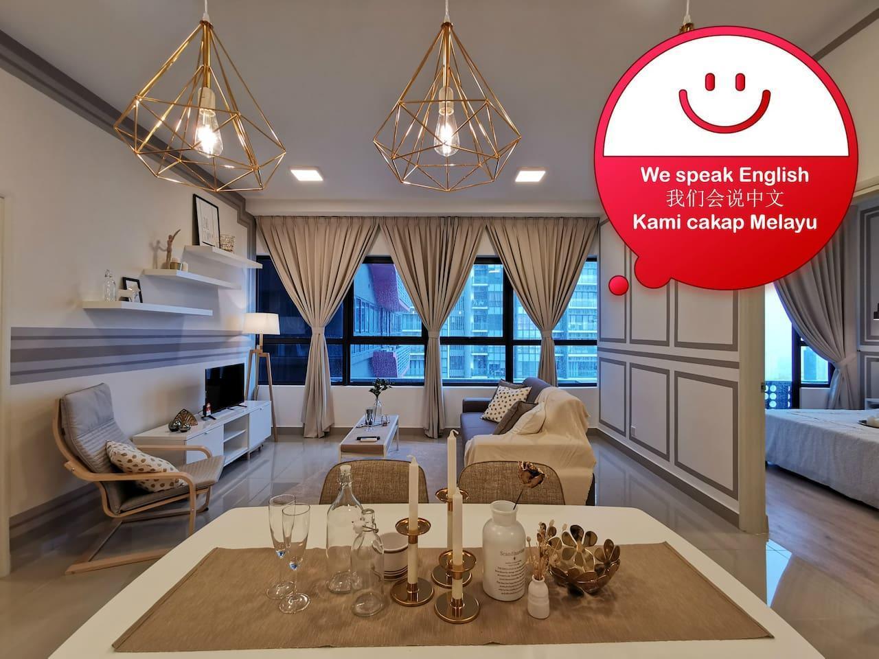 RAREFIN  Nordic Style Apartment