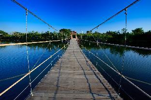[カンペーン セーン]バンガロー(32m2)| 1ベッドルーム/1バスルーム Chawalun Resort Chamchuri Lake View Bungalow 5