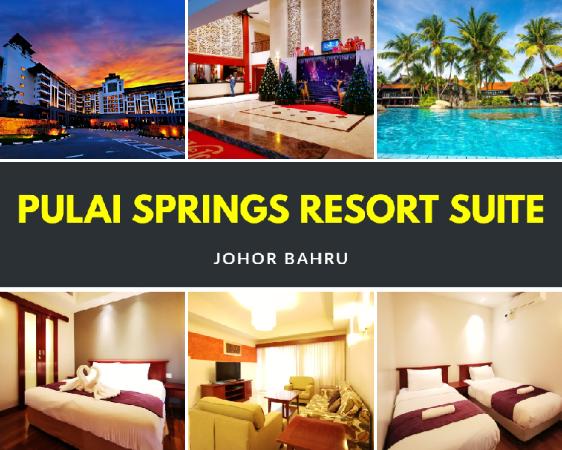Amazing Pool View 2BR Aprt @ Pulai Springs Resort Johor Bahru