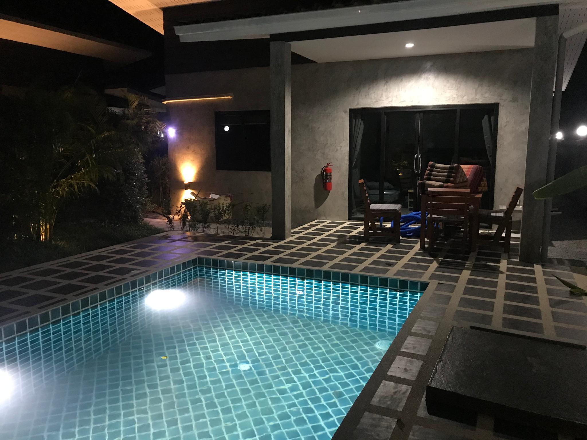 Baan san sabai private pool garden villa M วิลลา 1 ห้องนอน 1 ห้องน้ำส่วนตัว ขนาด 42 ตร.ม. – หาดพระแอะ