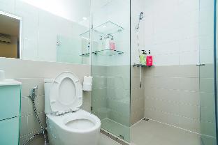 [プラトゥーナム]スタジオ アパートメント(34 m2)/1バスルーム Apartment close to BTS/Central World/Platinum