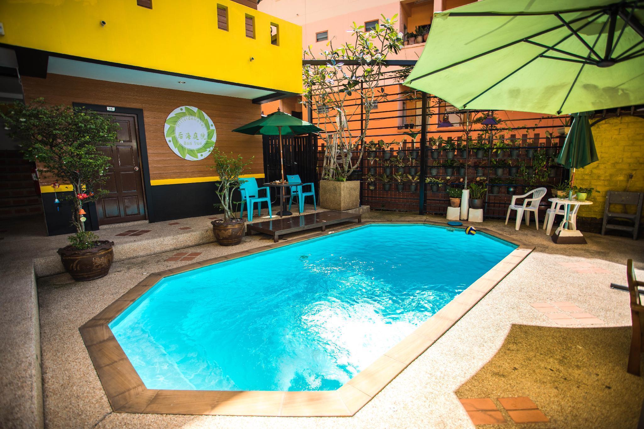 31PatongNICE big-bed room for 2 with swimming pool อพาร์ตเมนต์ 1 ห้องนอน 1 ห้องน้ำส่วนตัว ขนาด 32 ตร.ม. – ป่าตอง