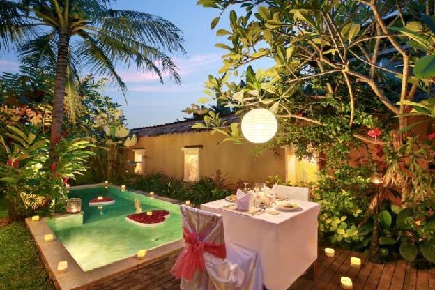 Honeymoon Suite Pool Villa - Breakfast#UNBRS