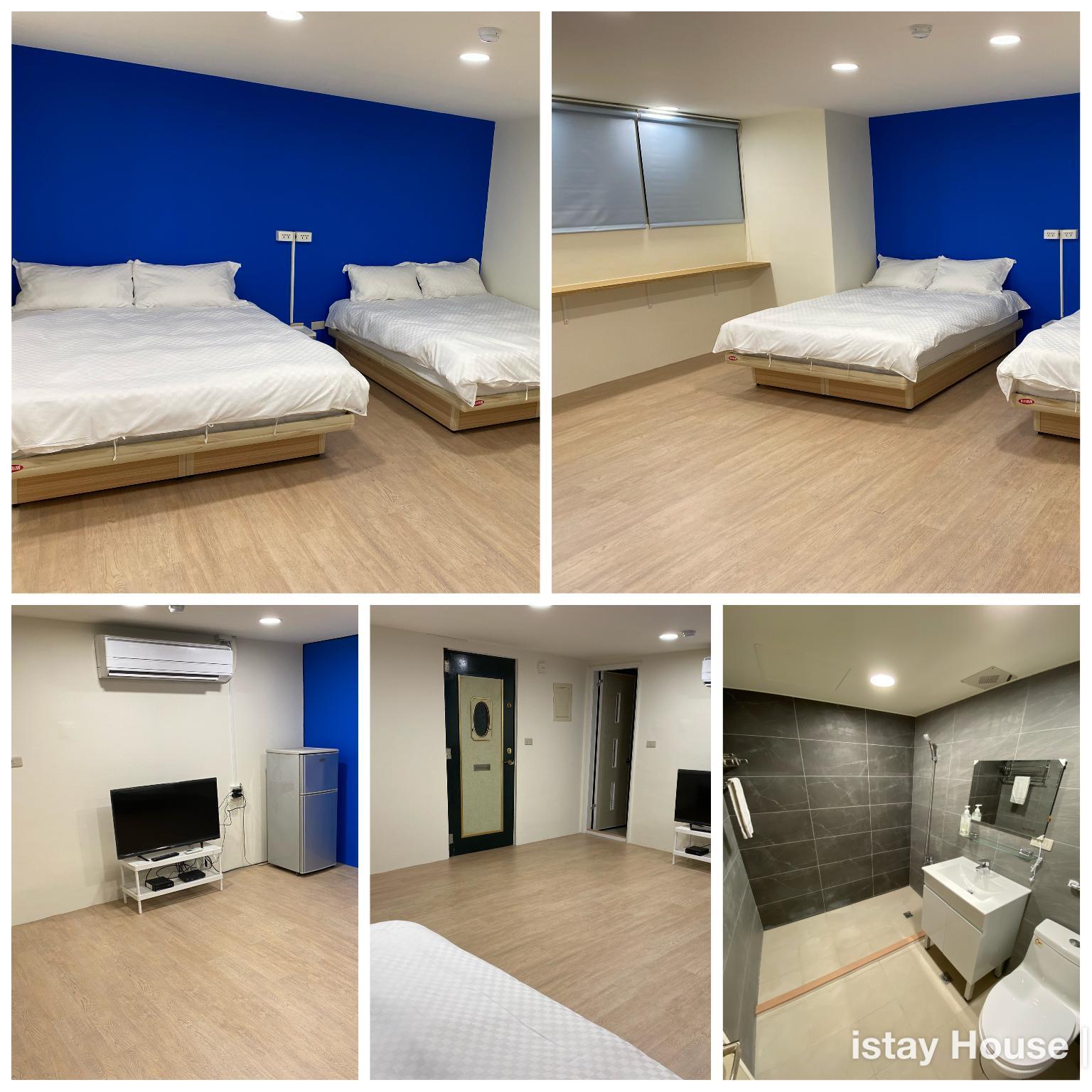 Ximen Station Blue Apartment