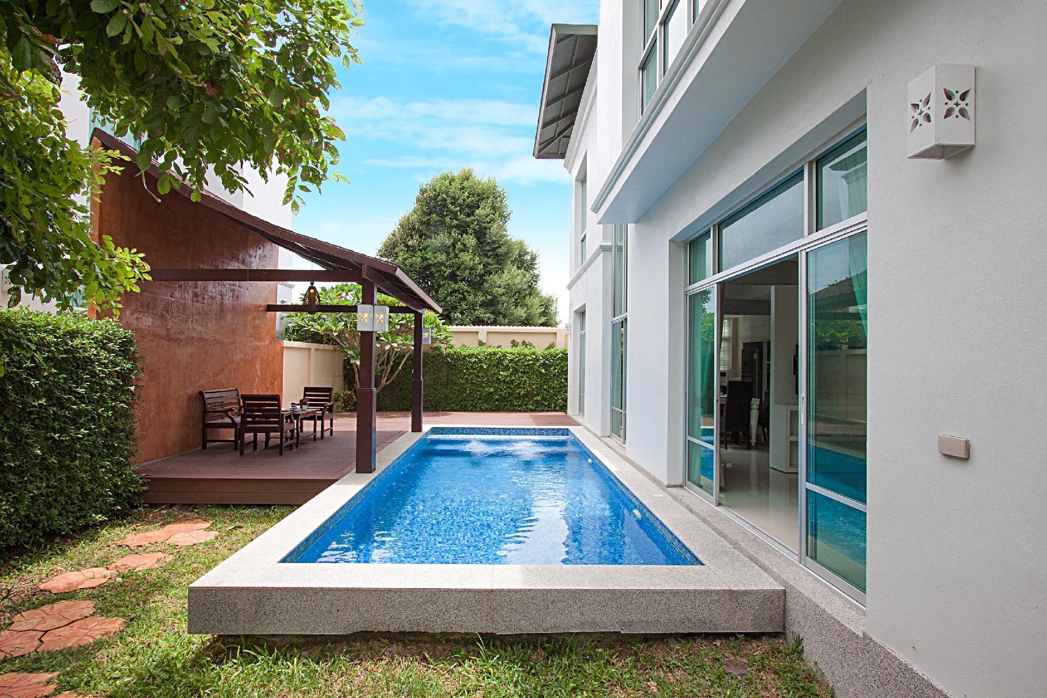 Villa Neo | 3 Bedroom Pool Villa in North Pattaya วิลลา 3 ห้องนอน 4 ห้องน้ำส่วนตัว ขนาด 220 ตร.ม. – พัทยาเหนือ