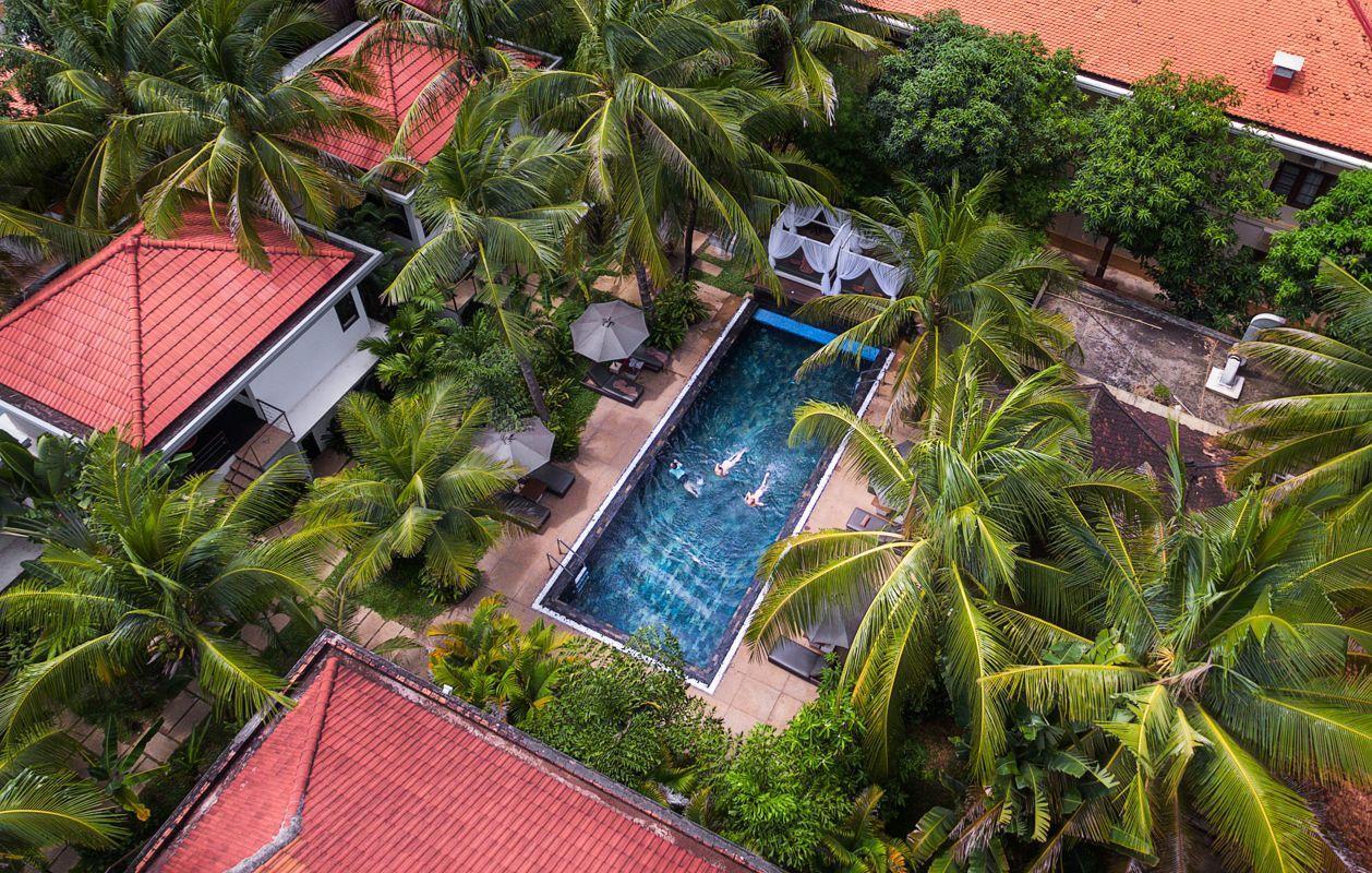 Three Bedroom Deluxe 6 Guests  Villa Pool View